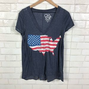 Chaser USA American Flag T-Shirt